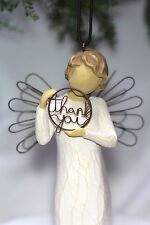 ANGEL ornament THANK YOU sign JUST FOR YOU hangar WILLOW TREE Birthday Gift card