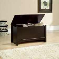 Storage Chest Toy Box Pillow Blanket Trunk Hope Wood Hinge Lid Furniture Bedroom