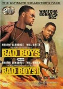 Bad Boys + Bad Boys 2 (DVD, 2004, 2-Disc Set) REGION 4 AUSTRALIA