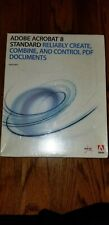 Adobe Acrobat 8 Standard with serial number, Windows, PN 22002184, Full retail