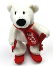COCA-COLA COKE peluche ours ours polaire sur ski - Peluche Polar Ours