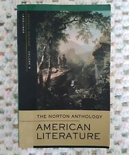 VGC Norton Anthology of American Literature: v. B: uni textbook english