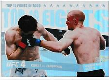 Carlos Condit Martin Kampmann 2010 Topps UFC Main Event Top 10 Fights Of 2009 12