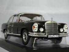Norev 1/18 scale 183432 - 1969 Mercedes Benz 280 SE Coupe Black not autoart