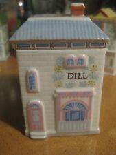 Lenox Spice Village Porcelain Dill Jar Sage Lid Container