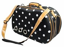 Fashion Dotted Venta-Shell Perforated Collapsible Military Grade Designer Pet Ca