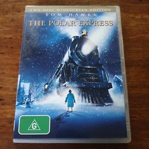 The Polar Express DVD R4 VERY GOOD - FREE POST