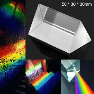 Spektrum Optisches Glasprisma Physik Dreiecksprisma Triangular Prisma DE !
