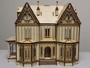 Kristiana Tudor 1:48 scale Dollhouse Kit Without Shingles