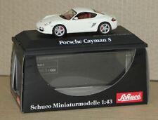 Schuco 1:43 Porsche Cayman S (987c) Sondermodell MiniCar FAN Special Japan