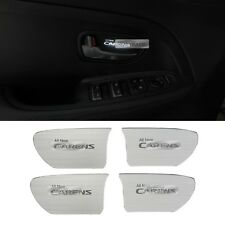 LED Door Catch Hairline Silver Molding Cover Plate For KIA 2013-17 Rondo Carens