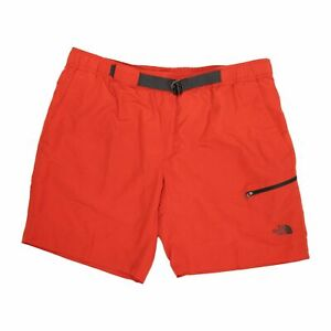 The North Face  Belted Guide Trunks Pompeian Red Shorts Men's Size S/P 1550