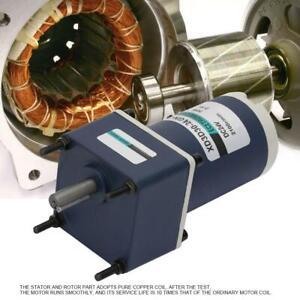 Regelbar Getriebemotor Langsamläufer Gleichstrom Gear Motor CW CCW DC24V 30W NEU