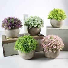 Künstliche Pflanze Blumen Kunstbonsai Bonsai Kunstblumen Kunstpflanzen im topf