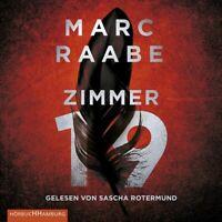 MARC RAABE: ZIMMER 19 - ROTERMUND,SASCHA HÖRBUCH HAMBURG 2 MP3 CD NEW