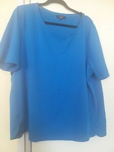 Blue T-shirt, Size 22, Pre-Loved New Look, Pet/Smoke Free House