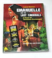 EMANUELLE AND THE LAST CANNIBALS ~ LIMITED ED Blu-Ray+CD w/Slipcover NEW SEALED