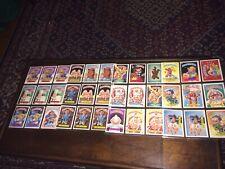HUGE Lot - original Series 5 - Garbage Pail Kids - 72 sleeved cards 1986 OS5