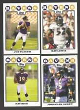 Cromos de fútbol americano de coleccionismo Topps Baltimore Ravens