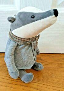 Jellycat Riverside Rambler Badger Soft Plush Kids Toy