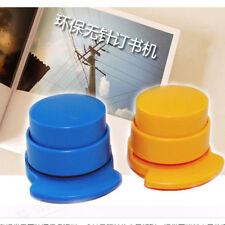 Popular Portable Stapleless Staple Free Stapler Paper Binding Binder Home Office
