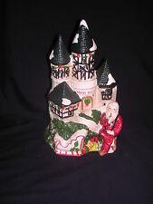 Brinn's Village Collection Santa's Castle Nite Lite Ceramic Handpainted