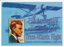 MODERN GEMS - Sierra Leone - Charles Lindbergh - Souvenir Sheet - MNH