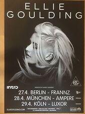 ELLIE GOULDING 2013 BERLIN  ++  orig.Concert Poster - Konzert Plakat  NEU