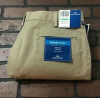 Dockers Flat Front Broker Chino Classic Fit Men's Pants Size 34 x 30