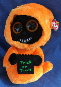 W-F-L TY Boos Grinner 8 11/16in Mind Halloween Glubschi Boo ´S Ghost