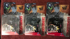 Transformers Age Of Extinction T4 Chainsaw Thrash Vehicon Lot Of 3