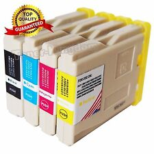 4 Hi-Capacity LC51 LC-51 Ink Cartridges Color Set For Brother MFC-240C MFC-440cn