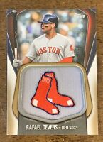 2020 Topps Series 1 Rafael Devers Jumbo Jersey Sleeve Patch /50 Red Sox