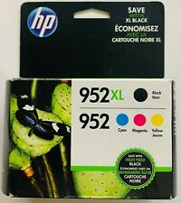 HP Genuine 952XL/952 BCMY 4PK For Officejet Pro 7720 7730 7740 8200 8210 8216