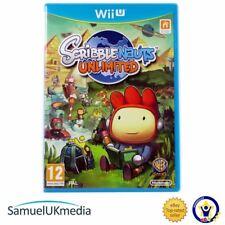 Scribblenauts Unlimited (Nintendo Wii U) ** **! Excelente Estado!