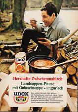3w2605 viejo anuncio de 1969 - UNOX - país hacendado tipo sopas