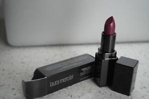 NIB New Laura Mercier lipstick creme smooth lip color MERLOT 0.14 oz Full Size