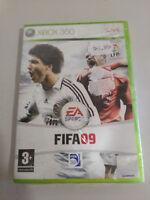 FIFA09 FIFA 09 XBOX 360 EDICIÓN ESPAÑOLA EA SPORTS FIFA NUEVO PRECINTADO!!!