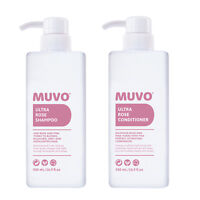 MUVO Ultra Rose Shampoo & Conditioner 500ml DUO - For Pink Tones