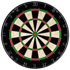 18 In Professional Regulation Size Bristle Dart Board High Quality 10 Lb