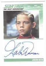 Star Trek die Next Generation Gabriel Damon Autogramm