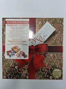 Mariah Carey Merry Christmas II You Box Set Brand New Sealed Hyper Stickers