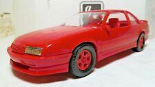 AMT/ERTL Number 6038, '91 Chevrolet Beretta GTZ in Bright Red, NEW IN BOX