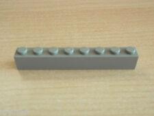 Lego 3x Light Bluish Grey Brick 1x8 part 3008 Modular 10182 10185 10197 10224