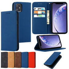 For iPhone 11 Max X XR Xs 6 7 8 SE2020 Phone Case PU Leather Magnetic Flip Cover
