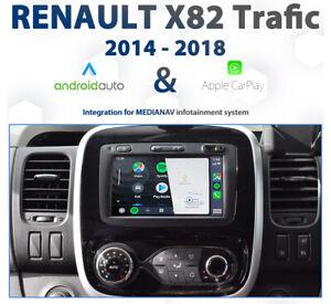 Renault Trafic X82 2014 - 2018 Apple CarPlay & Android Auto Integration