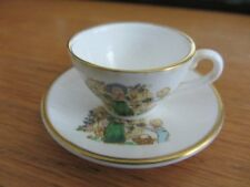 CAVERSWALL  miniature Cup & Saucer  WEDNESDAY