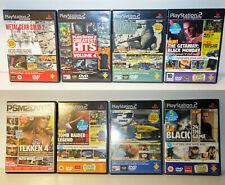 PS2 Demo Games x 8 - Playstation 2 bundle joblot job lot Metal Gear Tomb Raider