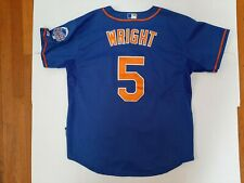 VTG David Wright New York Mets Jersey 2013 All-Star Game patch Sewn SZ 50 2XL