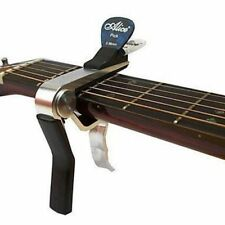 Alice Guitar Capo + Pick Holder Acoustic Electric Quick Release Trigger Clamp
